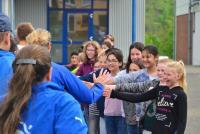 Peace Run: Die 5d empfängt die Läufer für den Frieden - Foto/Abbildung: Peace Run