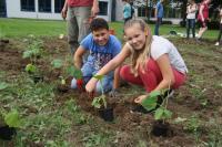 WPF Forschen und Entdecken: Unser Schulgarten! - Foto/Abbildung: Sandra Rosa