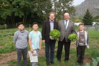 Besuch des Remagener Bürgermeisters Georgi an der IGS - Foto/Abbildung: Sandra Rosa