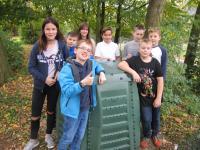 Unser Komposter