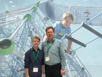 Schülersprecher und Schulleiter besuchen gemeinsam die Fachmesse FSB in Köln