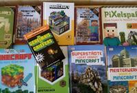 Die neuen Minecraft-Bücher in unserer Bibliothek - Foto/Abbildung: Kathrin Schmickler