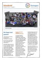 Schulbrief Nr. 1 im Schuljahr 2013/14