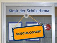 Kiosk geschlossen