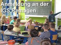 Anmeldung an der IGS Remagen