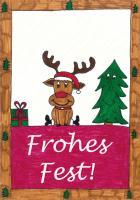 Weihnachtskarte 2014 - Foto/Abbildung: Darina Kassner (6d)