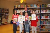 Ece (6c), Darina (Schulsiegerin, 6d), Diana (6b), Jana (6a) - Foto/Abbildung: Sandra Rosa